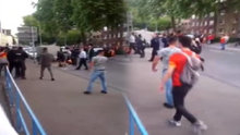 Almanya'da Galatasaraylıya saldırı