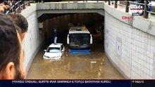 Şiddetli yağış Başkent'i vurdu