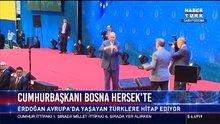 Cumhurbaşkanı Bosna Hersek'te