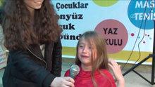 İstiklal Marşı'nı okurken hem ağladı hem ağlattı