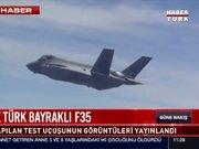 İŞTE İLK TÜRK BAYRAKLI F35