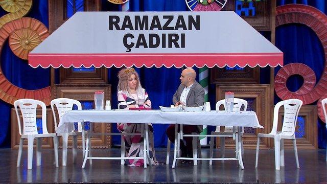Ramazan çadırı lüks bir restoran gibi gösterilebilir mi?
