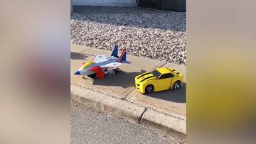 Transformers'a dönüşen çocuklar