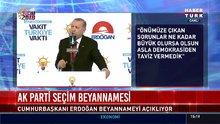 İşte AK Parti'nin seçim beyannamesi!