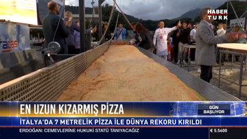 Dünyanın en uzun pizzası