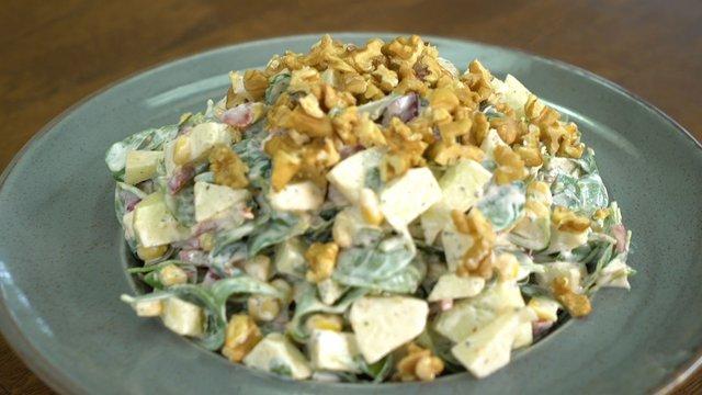 Elmalı Semizotu Salatası