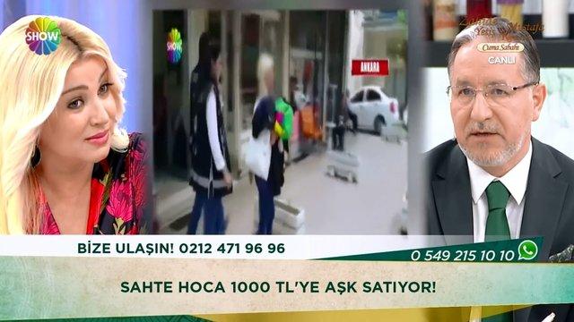 Sahte hoca 1000 TL'ye aşk satıyor!