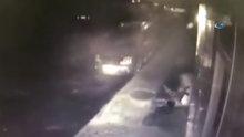 Arnavutköy'de Suriyeli gaspçı dehşeti kamerada