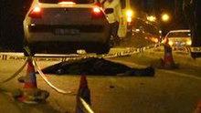 Otomobilin çarptığı kadın feci şekilde can verdi