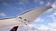 Boeing, 3'üncü nesil 777 uçağının katlanabilir kanat teknolojisi