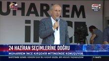 Muharrem İnce Kırşehir'de halka hitap etti