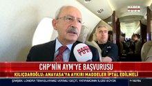 CHP'nin AYM'ye başvurusu