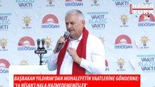 """Başbakan Yıldırım: """"16 Nisan halk oylamasını hala hazmedememişler"""""""
