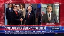 Akşener-Kılıçdaroğlu görüşmesi