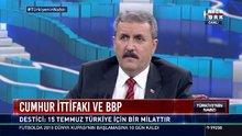 BBP Partisi Genel Başkanı Destici Habertürk TV'de
