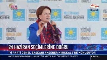 Meral Akşener Kırıkkale'de halka hitap etti