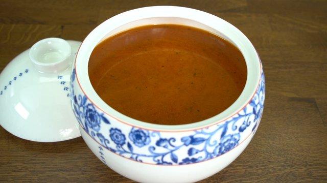 Mini Köfteli Çorba