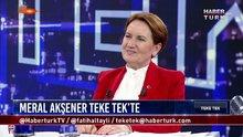 Teke Tek - 5 Haziran 2018 (İYİ Parti Genel Başkanı ve Cumhurbaşkanı adayı Meral Akşener)