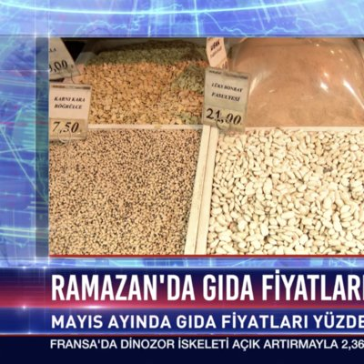 Ramazan'da gıda fiyatları arttı
