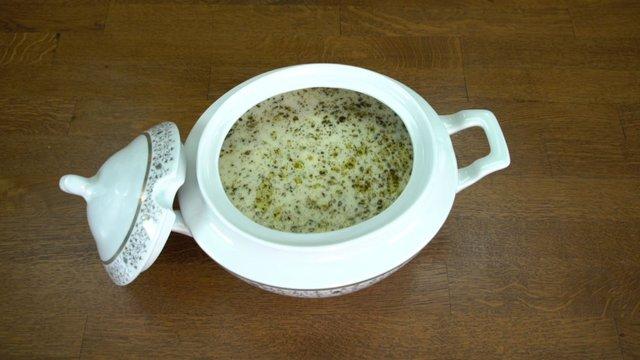 Yoğurtlu Buğday Çorbası
