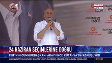 Cumhurbaşkanı adayı İnce Kütahya'da konuştu