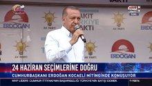 Cumhurbaşkanı Erdoğan Kocaeli'de konuşuyor