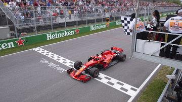 Formula 1'de sezonun 7'nci yarışını Ferrari kazandı! Vettel zirveye yerleşti