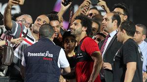 Muhammed Salah sahalara döndü!