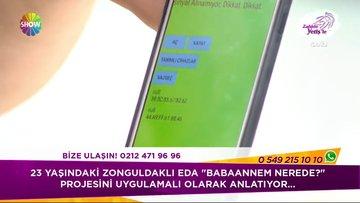Babaannesinin sürekli kaybolmasına 12 Liraya çözüm buldu...