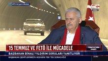 Başbakan Yıldırım Habertürk TV ve Bloomberg HT ortak yayında