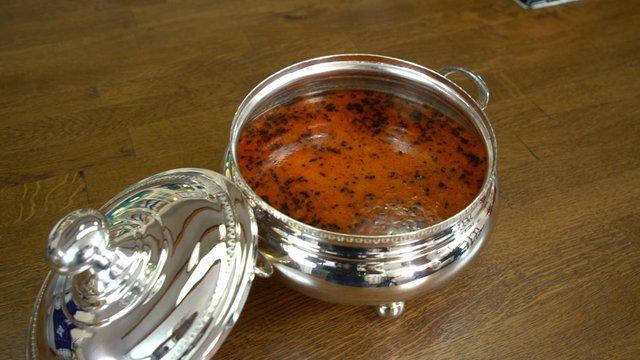 Barbunyalı Hamur Kesme Çorbası