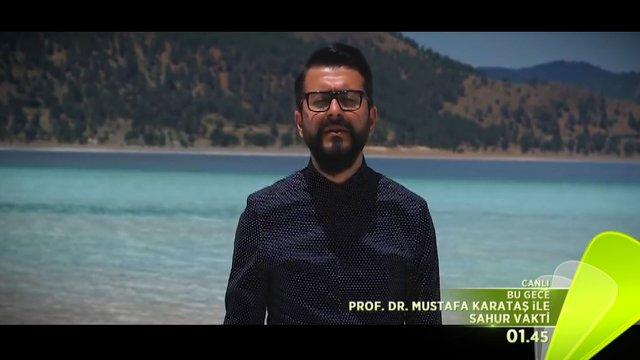 Prof. Dr. Mustafa Karataş ile Sahur Vakti 13 Haziran Fragmanı