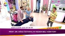 Op. Dr. Kerem Bıkmaz'dan Prof. Dr. Oğuz Özyaral'a canlı yayında tedavi!