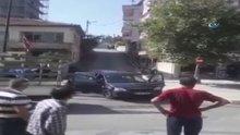 İki aile çeyiz yüzünden birbirine girdi...Çeyiz yüzünden çıkan silahlı çatışma kamerada