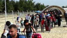 Sığınmacıların bayram göçü! Başvuru yapan 54 bin Suriyeli sınırdan geçti