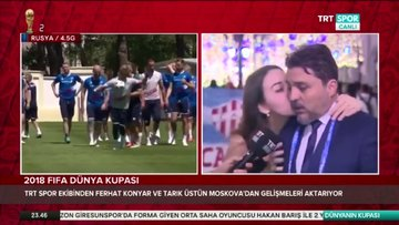TRT Spor yorumcusu Ferhat Konyar'ın zor anları