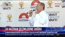 Cumhurbaşkanı Erdoğan Yalova'da