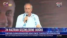 Muharrem İnce Tunceli'de konuştu