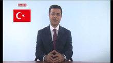 Bir ilk! Demirtaş TRT'de konuştu