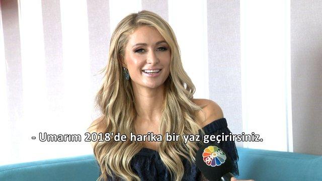 Antalya'da Paris Hilton rüzgarı!