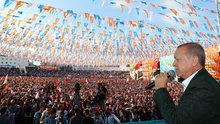 Cumhurbaşkanı Erdoğan Ordu'da vatandaşlara seslendi