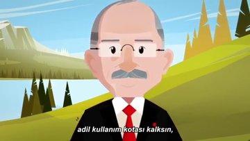 CHP'den çok konuşulacak animasyon