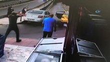 Trafikte tartıştığı şahsa aracıyla çarpıp metrelerce böyle havaya uçurdu