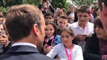Macron kameralar önünde azarladı: bana 'Efendim' diyeceksin!