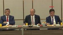 CHP'nin Cumhurbaşkanı adayı Muharrem İnce genel yayın yönetmenleri ile bir araya geldi