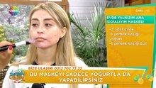 """Nilgün Bodur'dan """"Evde yalnızım ama iddialıyım maskesi"""" yapımı!"""