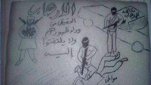 Son Dakika! Yemenli mahkum BAE'nin işkencelerini tabaklara resmetti