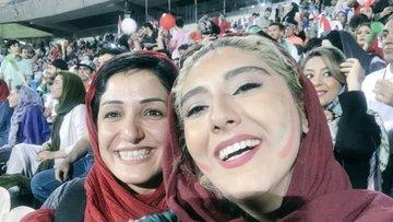 2018 Dünya Kupası: İran'da kadınlar ilk kez stadyuma alındı