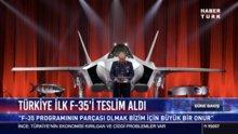 İlk F-35 teslim alındı