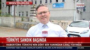 Trabzon'da seçime katılım yüksek
